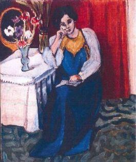 Een van de gestolen werken - La Liseuse en Blanc et Jaune – Henri Matisse, 1919