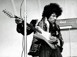 Jimi Hendrix in 1967