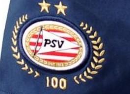 Jubileumlogo van PSV