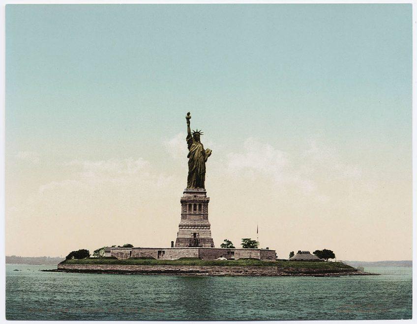 Vrijheidsbeeld rond 1900