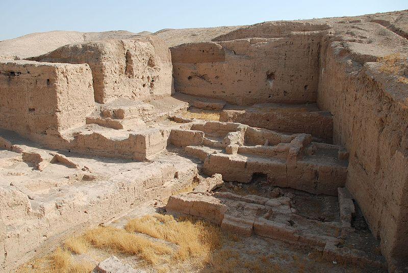 De archeologische vindplaats Tell Brak - Foto: CC-Bertramz