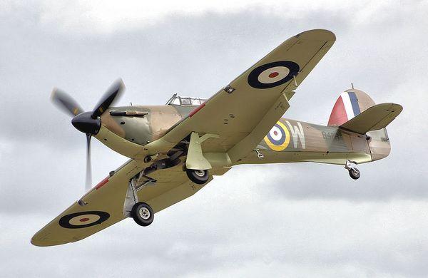 Hawker Hurricane, jachtvliegtuig van de RAF