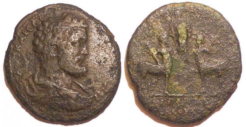 De zeldzame Romeinse munt - Foto: Niek Claassen