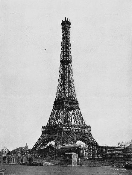 15 maart 1889: De montage van de derde verdieping