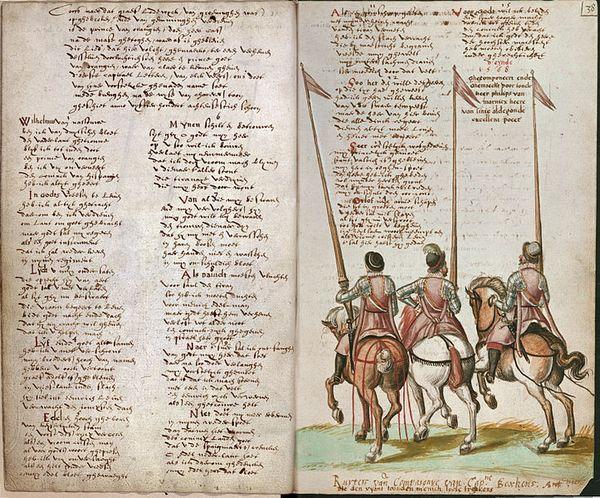 Oudste publicatie van het Wilhelmus uit de jaren 1570 - Koninklijke Bibliotheek België