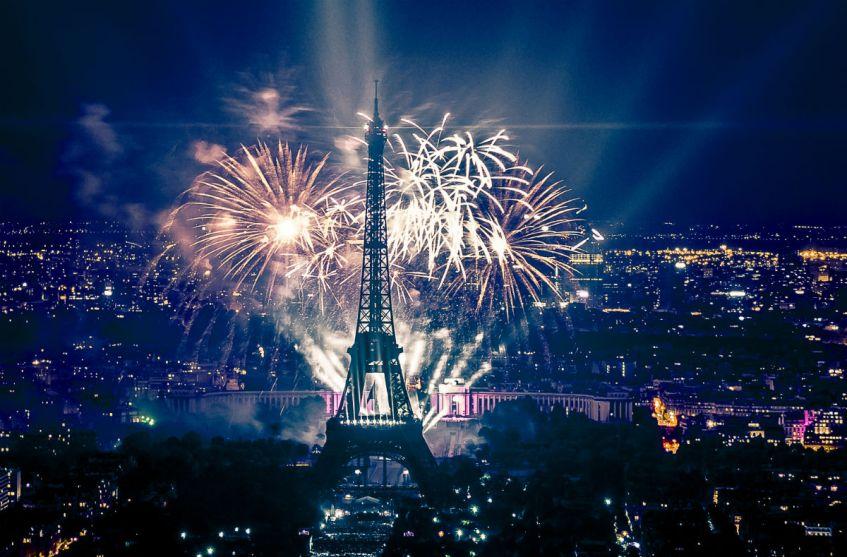Vuurwerk in Parijs - cc