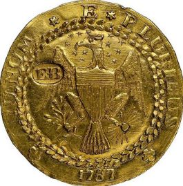 Brasher Gold Doubloon (Heritage Auctions)