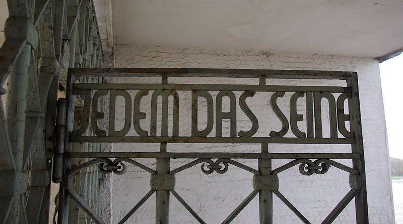 Toeganspoort van Buchenwald