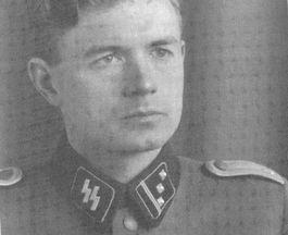 Gerhard Stroink in uniform van de Waffen-SS (Privécollectie Peter van Holsteijn)