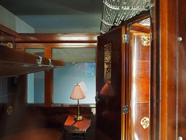 1-op-1-model van Art Deco-compartiment van Wagons-Lits - Arjan den Boer
