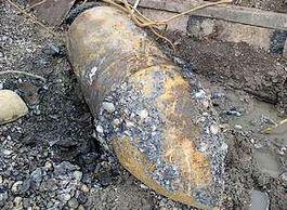 Foto van een willekeurige vliegtuigbom