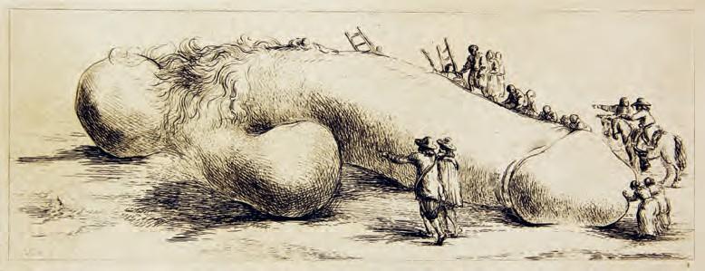 Ets door Dominique Vivant, baron de Denon, ca. 1790-1794 (Vieze Liedjes, Vantilt)