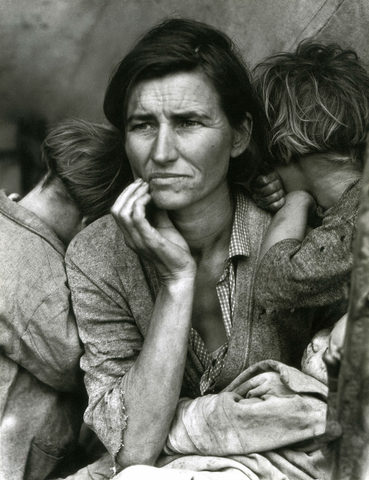 Dorothea Lange, Migrant Mother, Nipomo, California, 1936 © Library of Congress. Courtesy of Howard Greenberg Collection