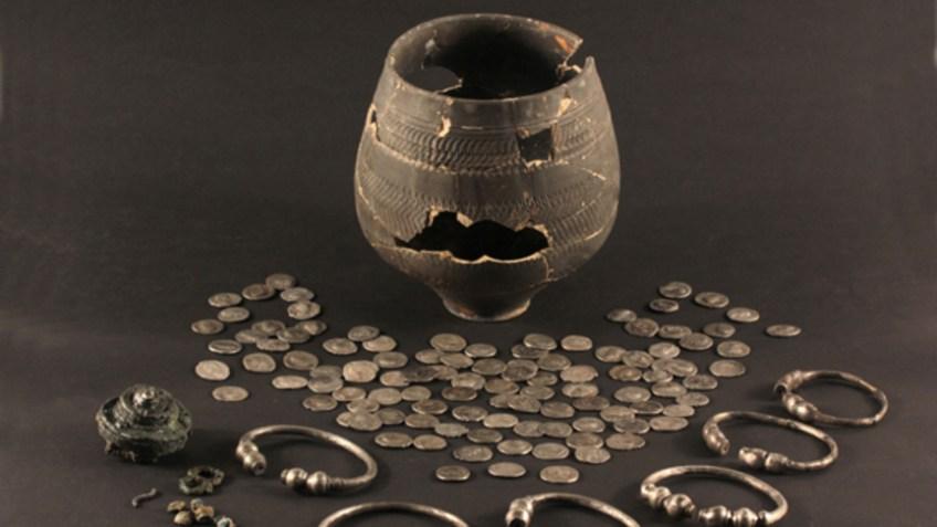 De Romeinse muntschat (Gemeente Den Haag)