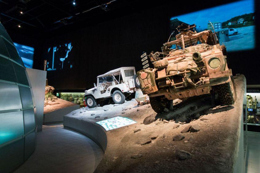 Foto jeeps in decor (NMM)