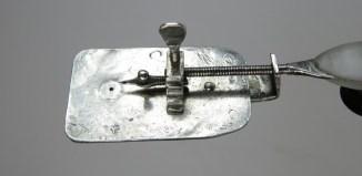 De ontdekte Leeuwenhoek-microscoop (Museum Boerhaave)
