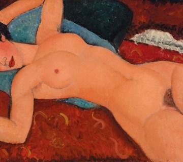 "Amedeo Modigliani's ""Nu Couché"" (1917-18) - Christie's"