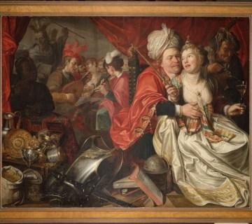 Schilderij, Jacob Waben, Vrouw Wereld, 1622 (WFM)