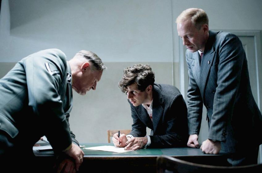 Georg Elser na zijn arrestatie