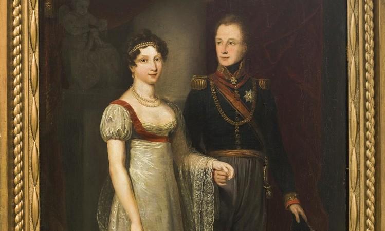 Hermitage viert 200-jarig huwelijk Willem II en Anna Paulowna