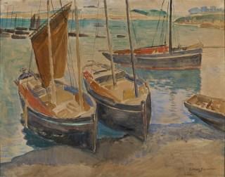 Haven in Bretagne - G.W. van Blaaderen (wiki)