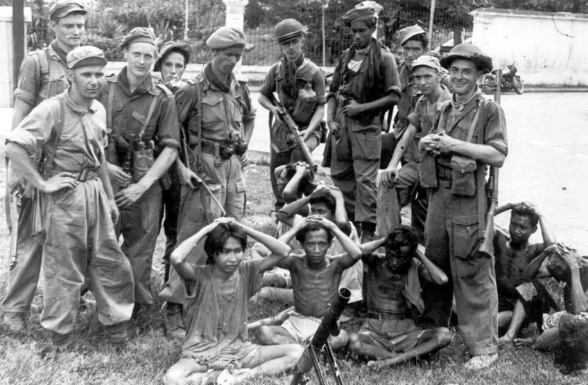 Nederlandse soldaten in Indonesië, 1945-1950