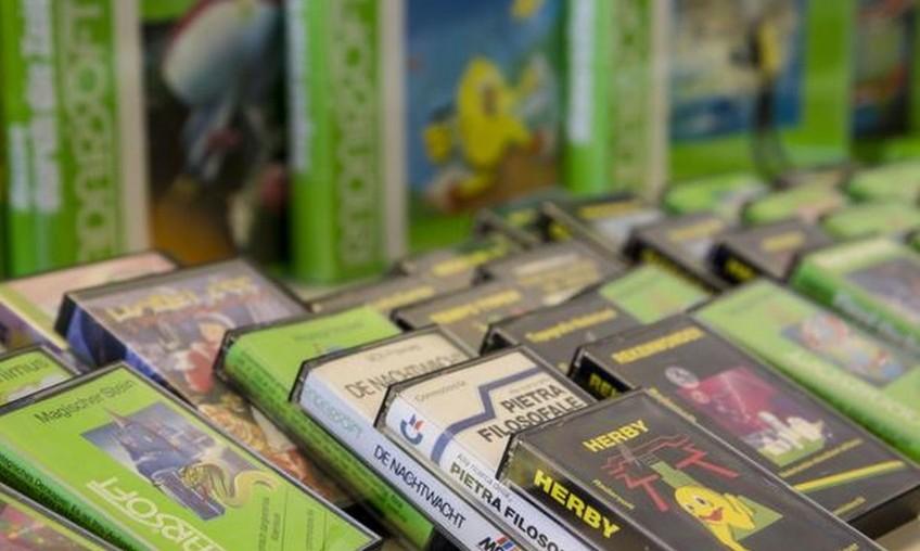 Oude videogames in collectie Beeld & Geluid
