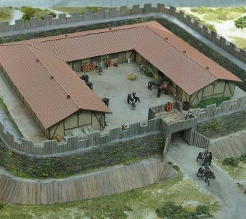 Romeins castellum bij Ockenburgh, Den Haag (reconstructie)