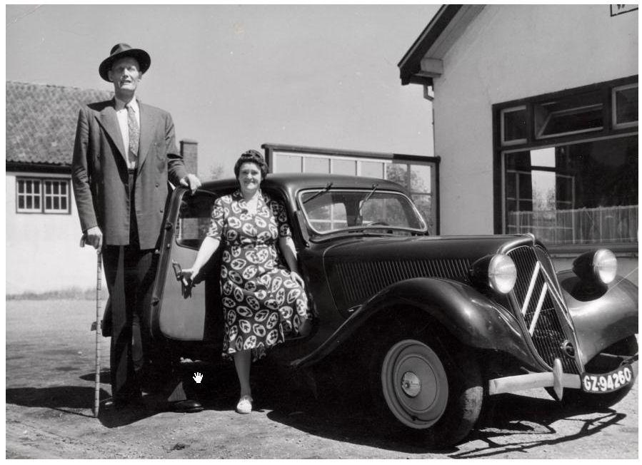 Albert Johan Kramer, de langste man van Nederland