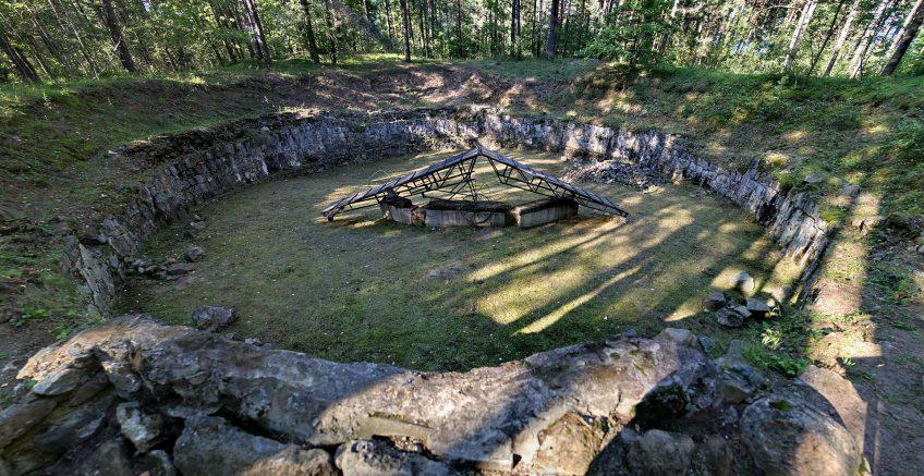 Ontsnappingstunnel van Joden gevonden bij concentratiekamp Ponar
