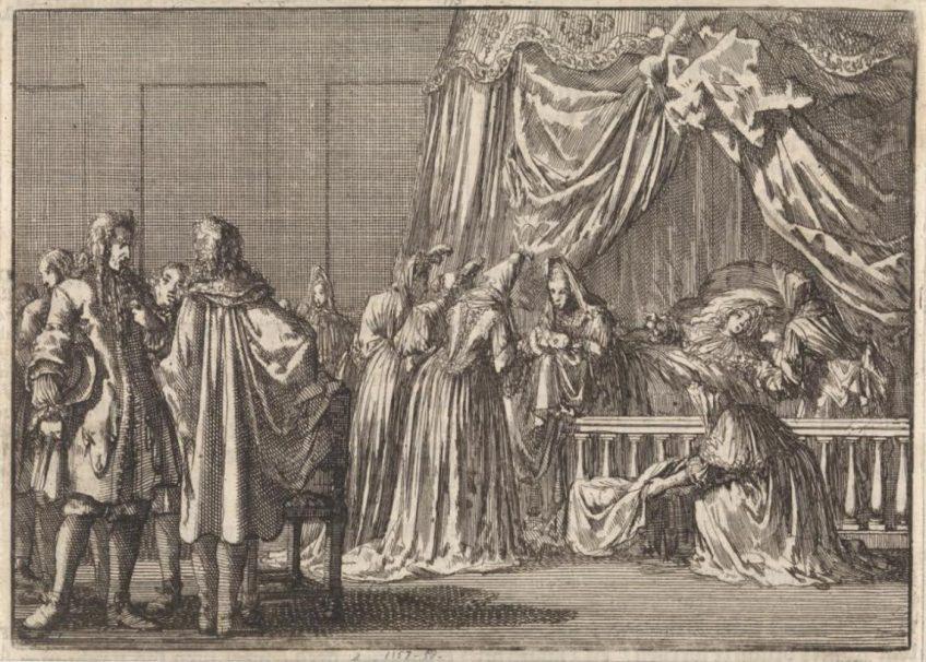Willem III roofde Engeland van schoonvader Jacobus II