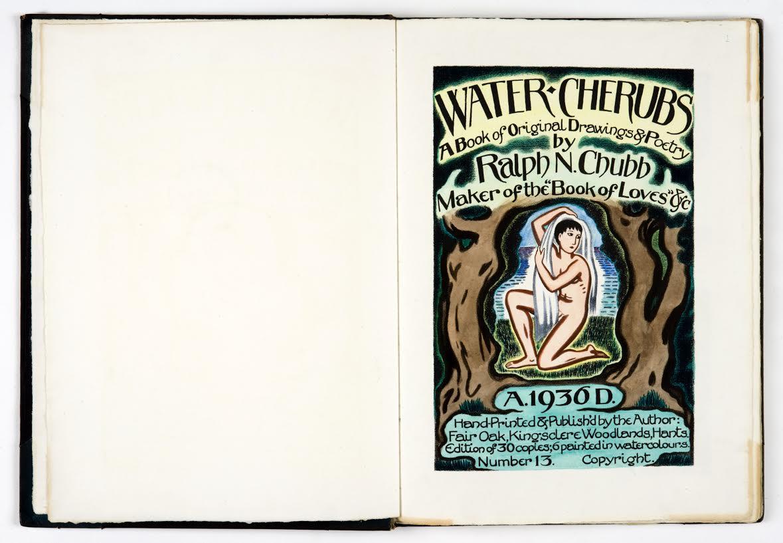 'Water Cherubs' - Een seksueel boek door Ralph Chubb (1936)