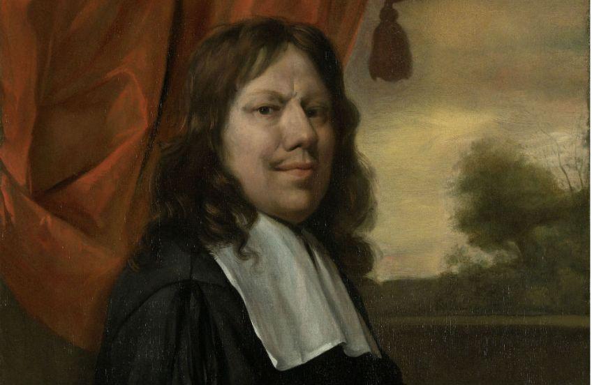 Zelfportret Jan Havicksz. Steen, ca. 1670. Bron: Rijksmuseum