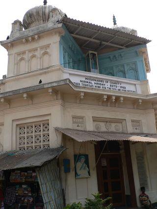 Gebouw in Calcutta waar Moeder Teresa haar werk verrichtte - cc
