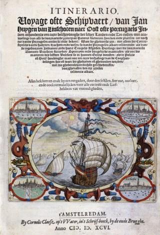 Kaart van Jan Huygen van Linschoten