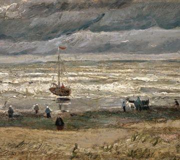 Zeegezicht bij Scheveningen (1882)