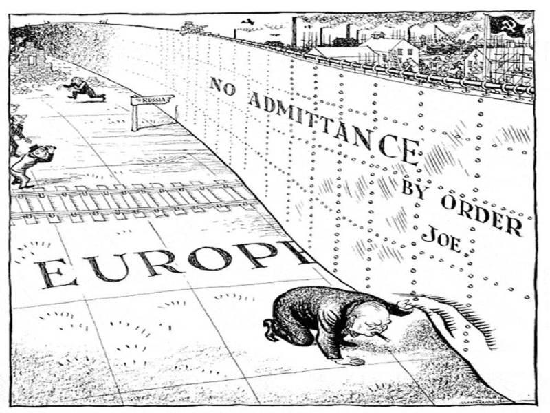 The Iron Curtain Is Brought To Life In This Memorable Cartoon From Daily