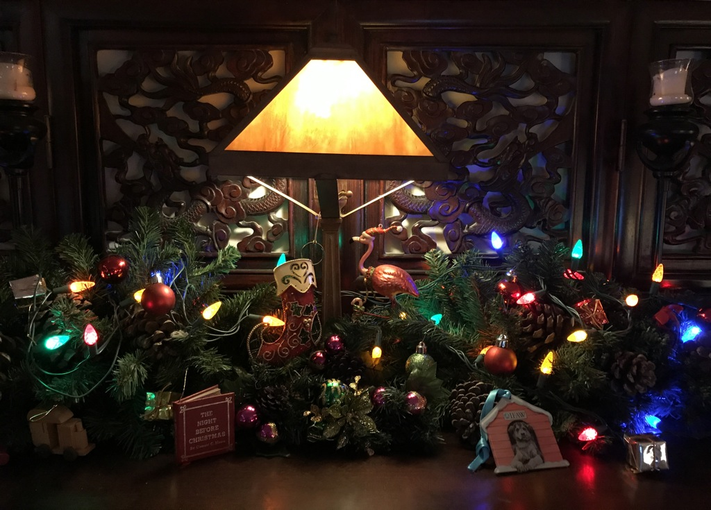 IMG_1020 Our holiday mantel 2017