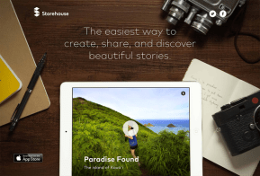 Storehouse visual storytelling