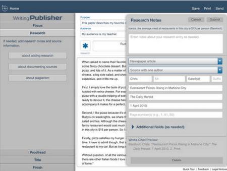 sas publisher