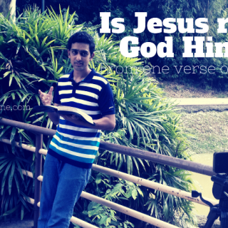 Is Jesus really God Himself-