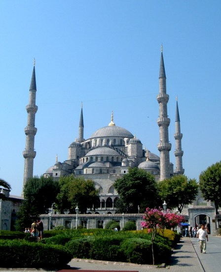 The Blue Mosque, taken from Sultan Ahmet Cami - Istanbul, Turkey, Turkey Absolute Musts