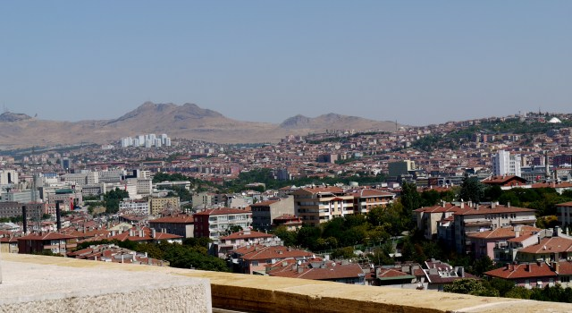 View over the city - Ankara, Turkey