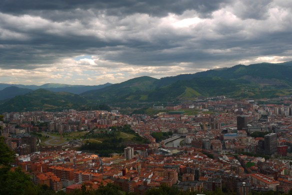 View across Bilbao to the surrounding hills, taken from Mount Artxanda - Bilbao, Spain (108), Why visit Bilbao