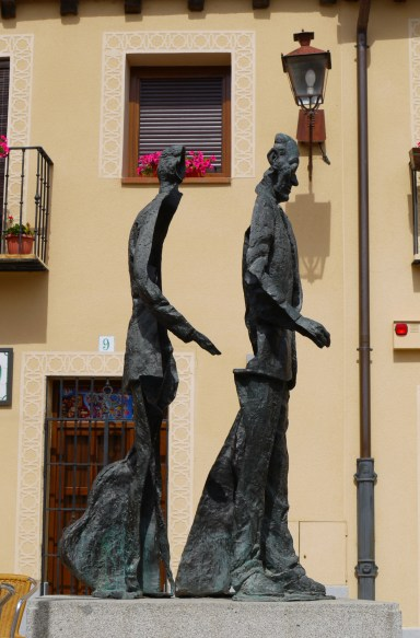Sculpture of Agapito Marazuela on Playuela del Socorro made by José María Moro - Segovia, Spain (123)