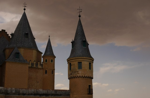 Stormy weather around Alcazar castle - Segovia, Spain (72)