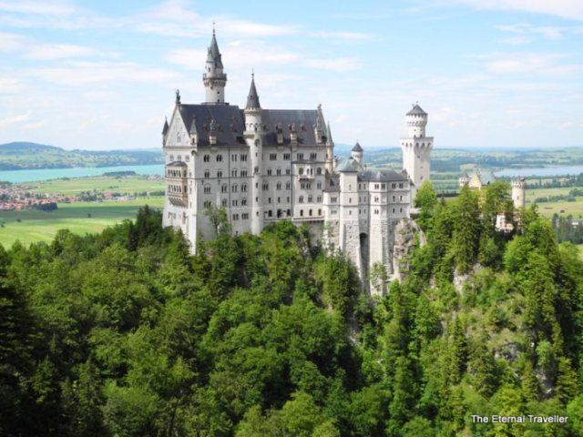 Neuschwanstein Castle, Bavaria, Germany - by the Eternal Traveller