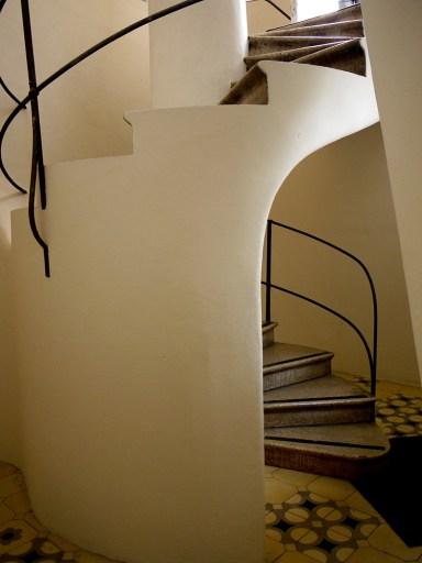 Casa Batlló, Barcelona, Spain  (19) - stairs