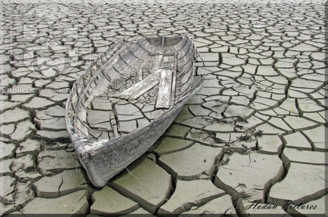 Old boat in Yorkshire, UK - by Hodan Pictures