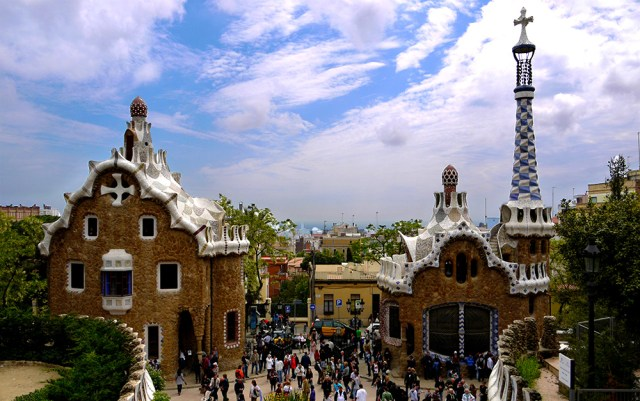 Park Guell, Barcelona, Spain, Spain's absolute musts